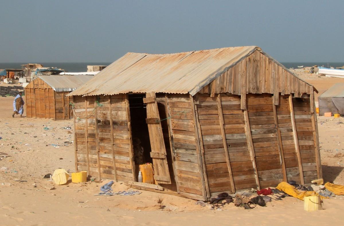 Zdjęcia: Banc d'Arguin, wybrzeże, ...a mówili nie buduj z wielkiej płyty, MAURETANIA