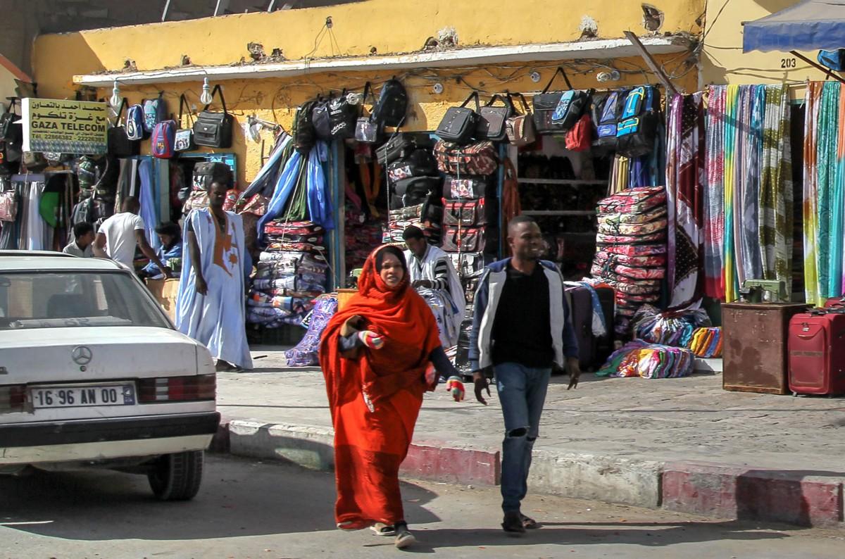 Zdjęcia: gdzieś po drodze, Mauretania, Uliczki, MAURETANIA
