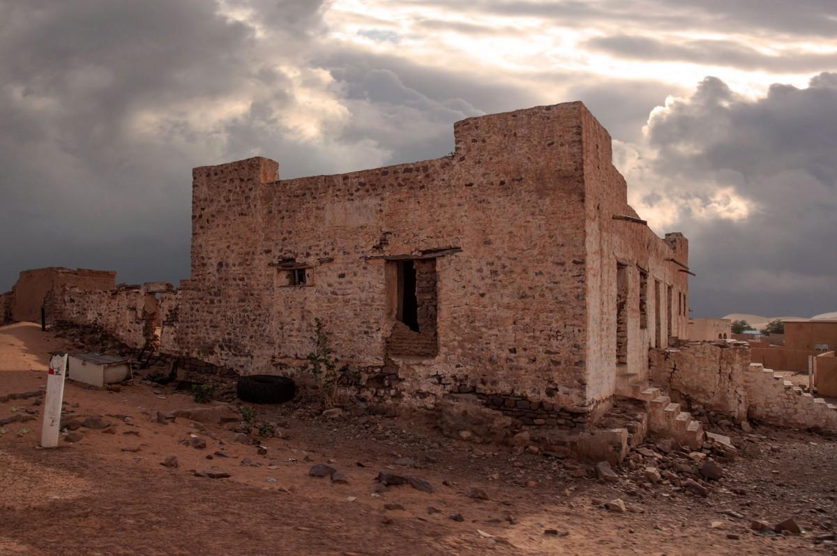 Zdjęcia: Moudjéria, Tagant, Stary fort, MAURETANIA