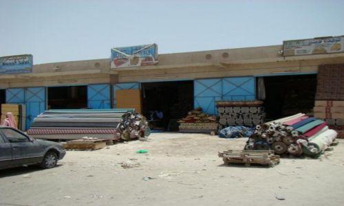 MAURETANIA / Nadibu / Nadibu miasto jedno z trzech w kraju / Komfort- market z dywanami ;)