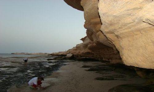 Zdjecie MAURETANIA / Nadibu / plaża po odpływie / Odpływ