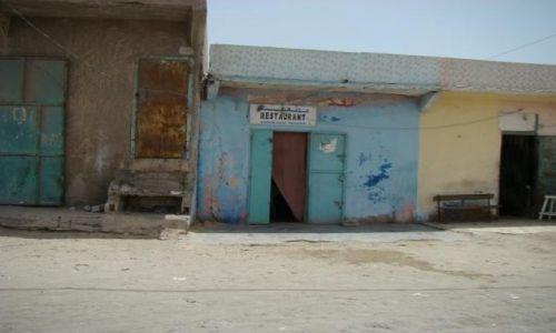 Zdjecie MAURETANIA / Nadibu / na głównej ulicy miasta / Restauracja
