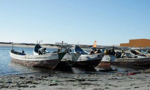 Zdjęcie MAURETANIA / Nouadhibou / nouadhibou / portowo