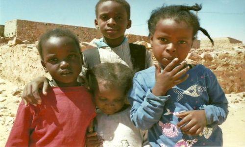 Zdjecie MAURETANIA / Sahara / Chinguetti / Duma i nieśmiałość