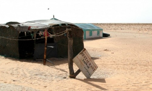 MAURETANIA / Mauretania / Mauretania / Restauracja