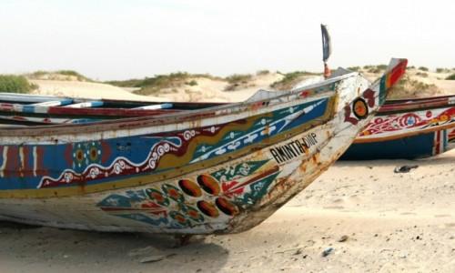 Zdjecie MAURETANIA / Sahel / Wybrzeże Atlantyku / Szybkie dhow