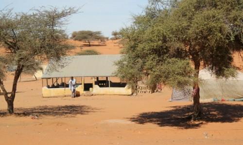 Zdjecie MAURETANIA / Sahel / Sahel / Przy domu