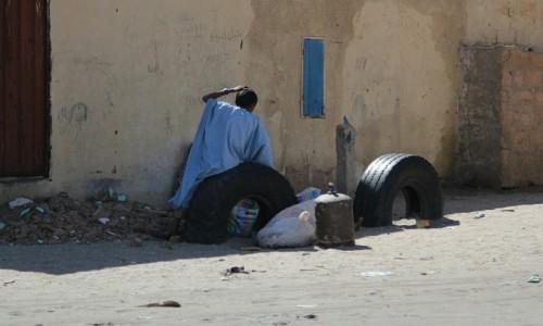 Zdjęcie MAURETANIA / Sahel / Sahel / 2.Oczekiwanie na taniego przewoźnika