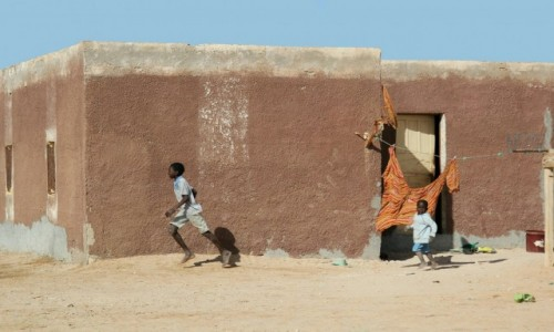Zdjęcie MAURETANIA / * / Mauretania / Mauretańska wioska