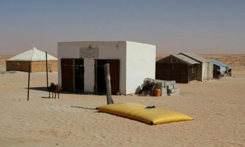 MAURETANIA / Sahel / wioska / Sklep bardzo wielobranżowy