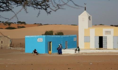 Zdjecie MAURETANIA / * / mauretańska wioska / Mauretania.Na placu głównym.