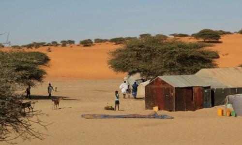 Zdjęcie MAURETANIA / * / mauretańska wioska / Mauretania.Wioska
