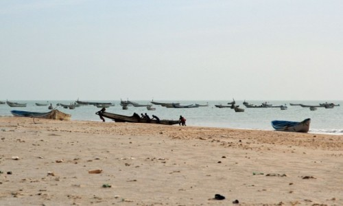 Zdjęcie MAURETANIA / Mauretania / nad Oceanem Atlantyckim / Po pracy