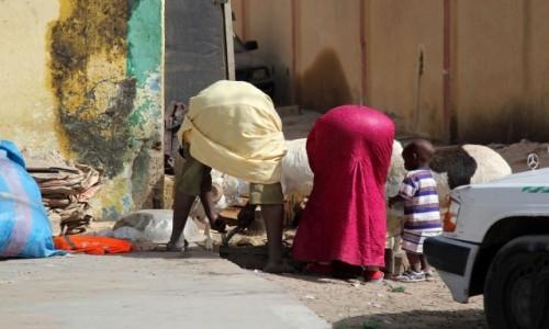 Zdjęcie MAURETANIA / Nawakszut / gdzieś po drodze / Przyłapane na ulicy