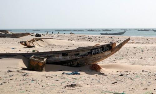 Zdjecie MAURETANIA / Mauretania / nad Oceanem Atlantyckim / Zwyczajny dzień
