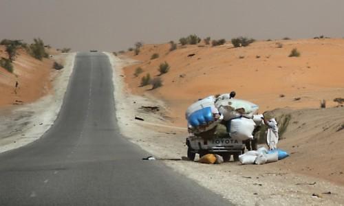 Zdjecie MAURETANIA / Mauretania / gdzieś po drodze / Ups