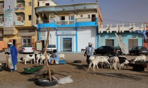 MAURETANIA / Mauretania / gdzieś po drodze / Ulice dużego miasta