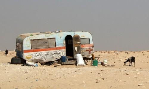Zdjecie MAURETANIA / Mauretania / gdzieś po drodze / Mauretański Fast Food