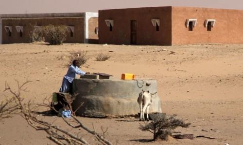 MAURETANIA / Mauretania / gdzieś po drodze / Studnia w wiosce