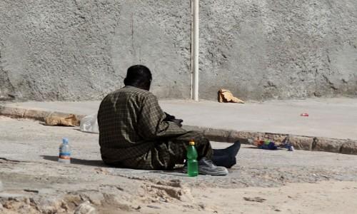Zdjecie MAURETANIA / Mauretania / gdzieś po drodze / Chwila na odpoczynek