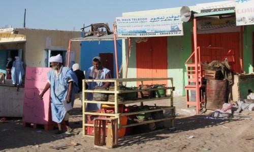 Zdjecie MAURETANIA / Mauretania / gdzieś po drodze / Dzielnica handlowa