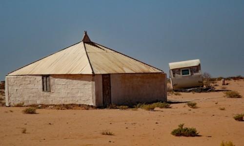 Zdjecie MAURETANIA / Mauretania / gdzieś po drodze / Rezydencja i domek gościnny :)