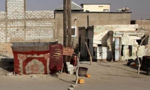 Zdjecie MAURETANIA / Mauretania / gdzieś po drodze / Myjnia samochodowa