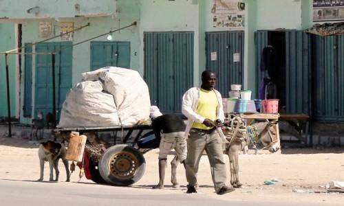 Zdjecie MAURETANIA / Mauretania / gdzieś po drodze / Moda na ulicy