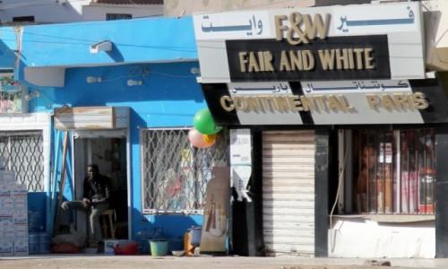 Zdjecie MAURETANIA / Mauretania / gdzieś po drodze / ...i to jest reklama!