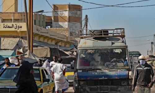 Zdjecie MAURETANIA / Mauretania / gdzieś po drodze / ...a transport w drodze