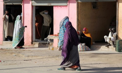 Zdjecie MAURETANIA / Mauretania / gdzieś po drodze / W zwolnionym tempie
