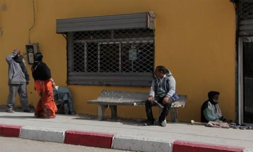 Zdjęcie MAURETANIA / Dachlat Nawazibu / Nawazibu / Na przystanku