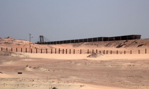 Zdjęcie MAURETANIA / Dachlat Nawazibu /  Nawazibu / Rdzawy kolor piasku