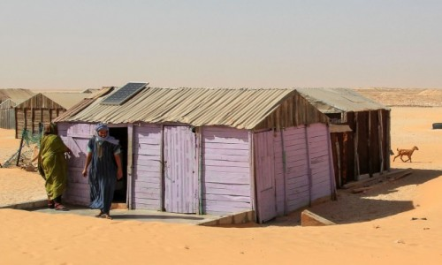 MAURETANIA /  Commune in Mauritania. / Nouamghar / Wioska