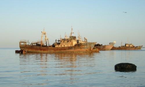 MAURETANIA / Dachlat Nawazibu / Nawazibu / Zatoka martwych statków