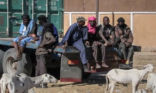 Zdjecie MAURETANIA / Nouakchott / gdzieś po drodze / Chłopaki
