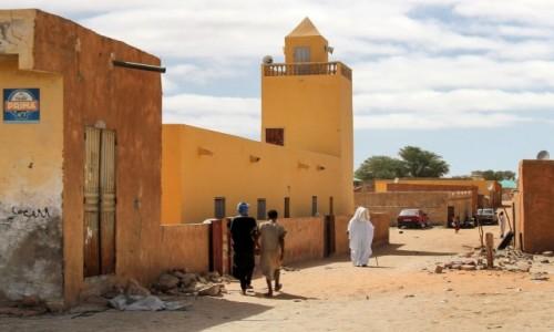 MAURETANIA /  Nouakchott / gdzieś po drodze / Droga do meczetu
