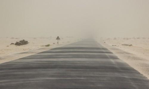 Zdjęcie MAURETANIA / Tagant / gdzieś po drodze / Burza...