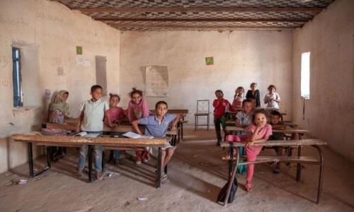 Zdjecie MAURETANIA /  Adrar / Terjit / Lekcja