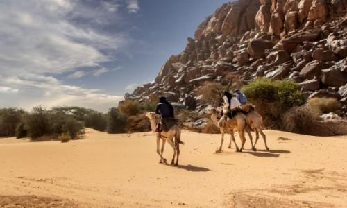Zdjęcie MAURETANIA / Tagant / gdzieś w piaskach pustyni / Nomadzi