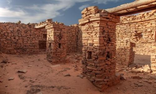 MAURETANIA / Tagant / gdzieś w piaskach pustyni / Ksar el Barka