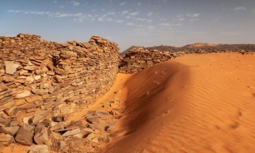 Zdjecie MAURETANIA / Tagant / gdzieś w piaskach pustyni / Ksar el Barka