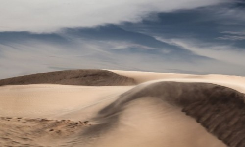 MAURETANIA / Tagant / gdzieś po drodze / ...a wiatr hula