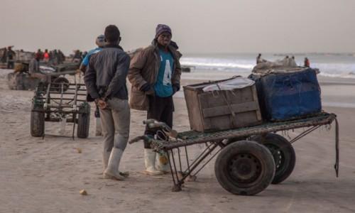 Zdjecie MAURETANIA / Nawakszut / nad Atlantykiem / W porcie rybackim