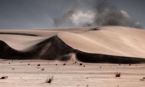 MAURETANIA / Mauretania / gdzieś w piaskach pustyni / ...a piasek zgrzyta między zębami