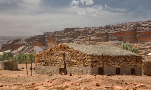 MAURETANIA / Adrar / gdzieś po drodze / Architektura