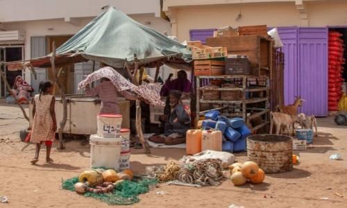 MAURETANIA / Mauretania / gdzieś po drodze / Sklepik