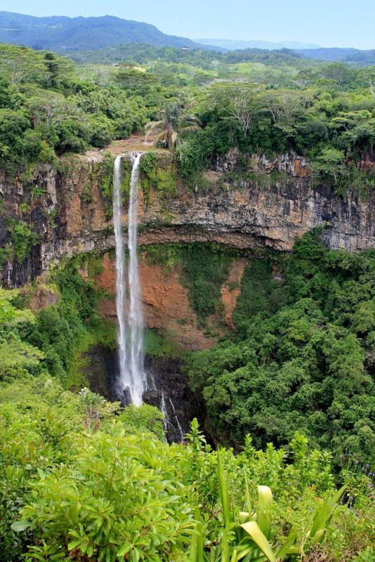 Zdjęcia: rezerwat, Chamarel, Wodpspady Chamarel, MAURITIUS