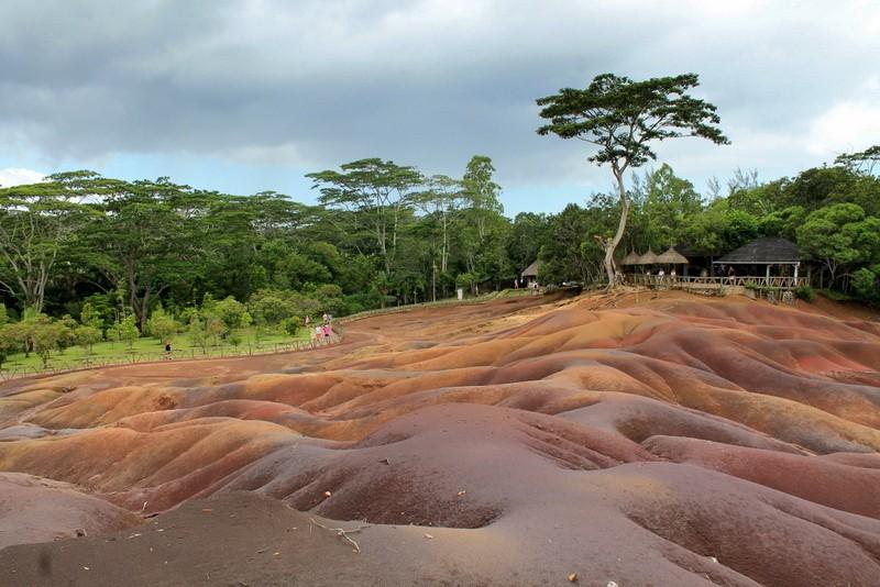 Zdjęcia: rezerwat, Chamarel, Rezerwat 7 Kolorów Ziemi, MAURITIUS