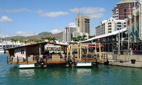 Zdjecie MAURITIUS / Port Louis / Caudan / Taka też jest Afryka ...